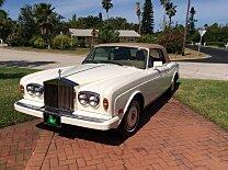 1987 Rolls-Royce Corniche II for sale 100926617