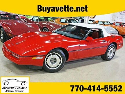 1987 chevrolet Corvette Convertible for sale 100971396
