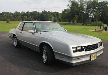 1987 chevrolet Monte Carlo for sale 100911362