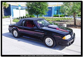 1987 ford Mustang GT Convertible for sale 100774765
