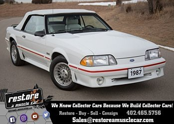 1987 ford Mustang GT Convertible for sale 100984273