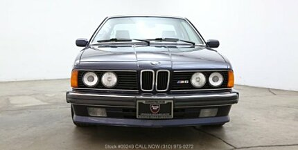 BMW M Classics For Sale Classics On Autotrader - 1988 bmw m6 for sale