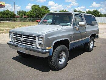1988 Chevrolet Blazer 4WD for sale 100777643