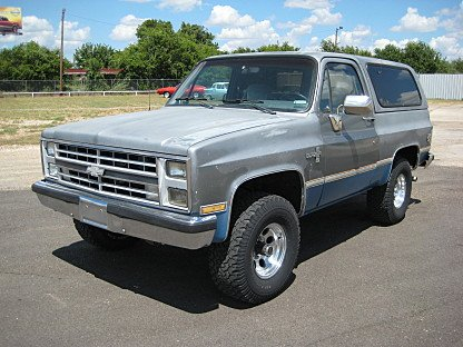 1988 Chevrolet Blazer 4WD for sale 100777643