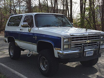 1988 Chevrolet Blazer 4WD for sale 100990482