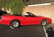 1988 Chevrolet Camaro for sale 100859991