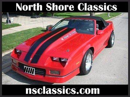 1988 Chevrolet Camaro for sale 100870199