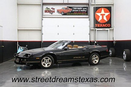 1988 Chevrolet Camaro Convertible for sale 100966964
