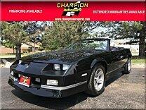 1988 Chevrolet Camaro Convertible for sale 101002110