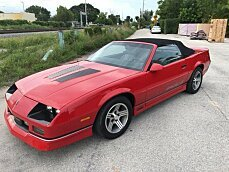 1988 Chevrolet Camaro Convertible for sale 101028177