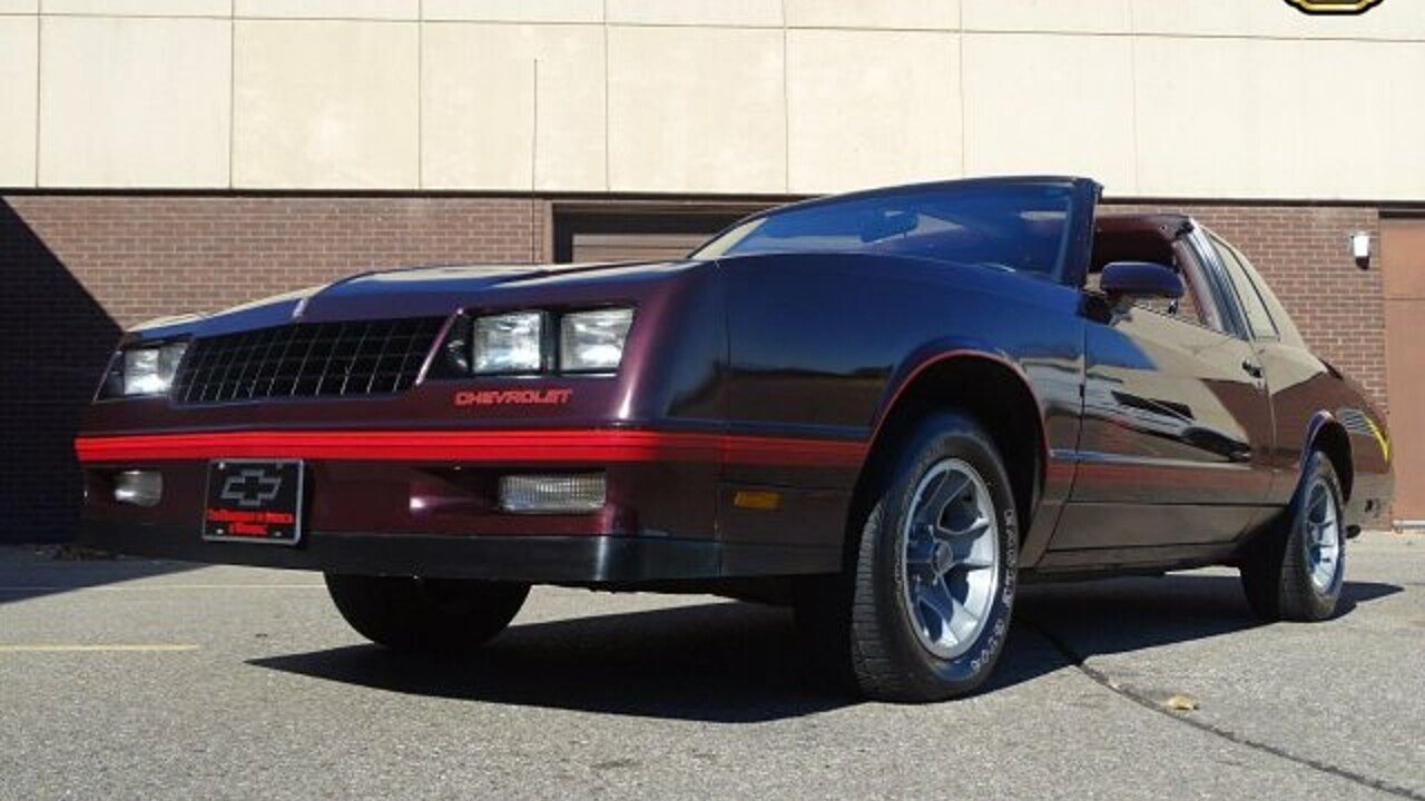 All Chevy 1988 chevrolet monte carlo ss for sale : 1988 Chevrolet Monte Carlo SS for sale near O Fallon, Illinois ...