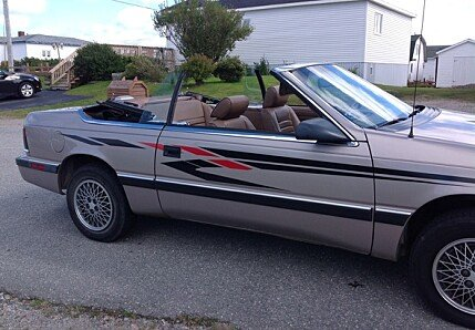 1988 Chrysler LeBaron for sale 100794389