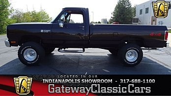 1988 Dodge D/W Truck for sale 100903924