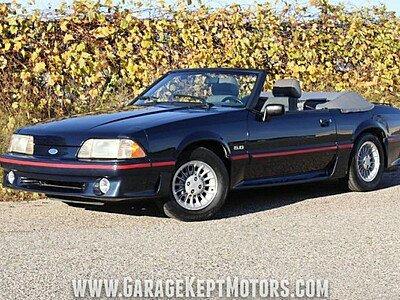 1988 Ford Mustang GT Convertible for sale 100943646