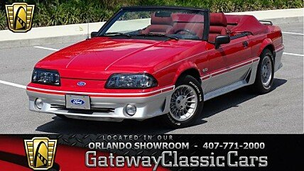1988 Ford Mustang GT Convertible for sale 101031045