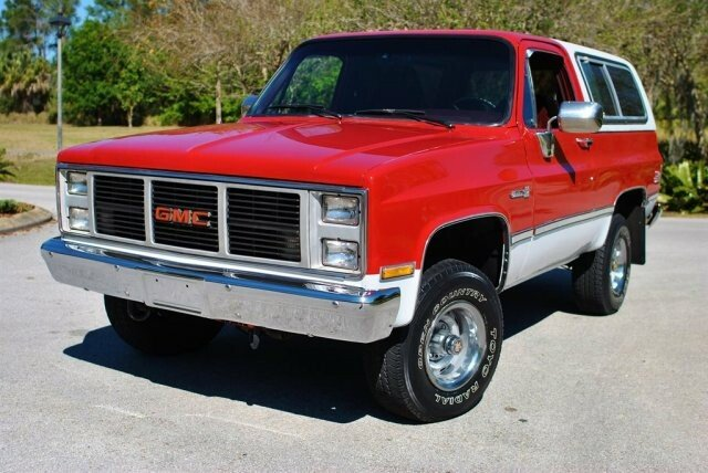 Classic Gmc Jimmies For Sale Classics On Autotrader