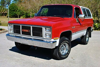1988 GMC Jimmy 4WD for sale 100860700