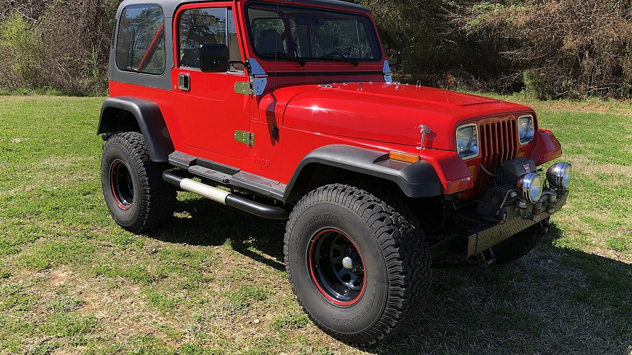 1988 Jeep Wrangler 4WD for sale 101007191