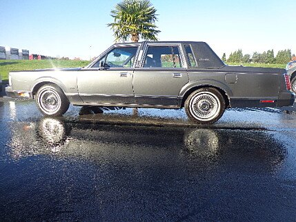 1988 Lincoln Town Car Signature for sale 100919227