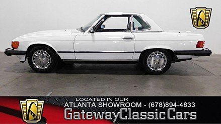 1988 Mercedes-Benz 560SL for sale 100964819