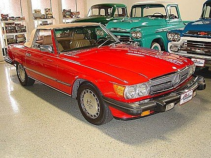 1988 Mercedes-Benz 560SL for sale 101002928