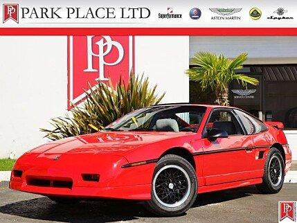 1988 Pontiac Fiero GT for sale 100756500