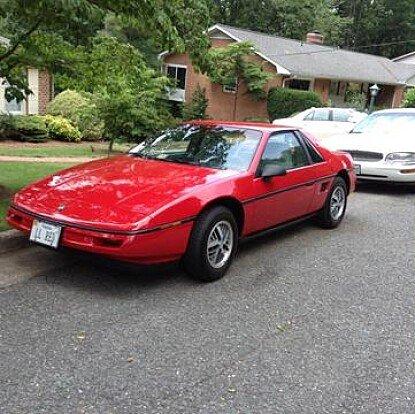 1988 Pontiac Fiero for sale 100886191