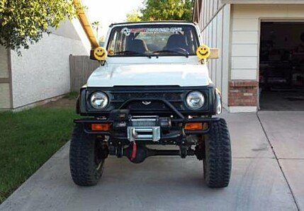 1988 Suzuki Samurai 4WD Soft Top for sale 100821280