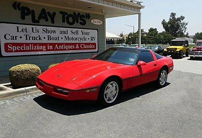1988 chevrolet Corvette Coupe for sale 100995764