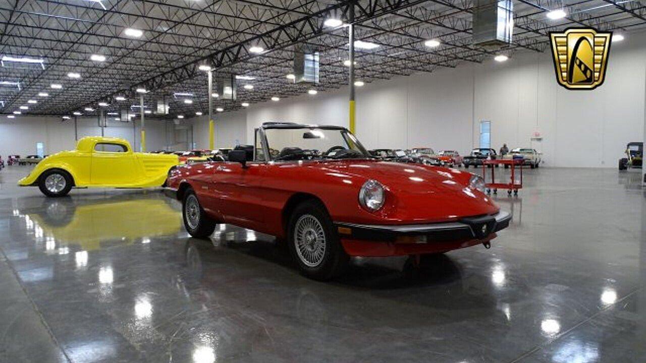 1989 Alfa Romeo Spider Graduate For Sale Near O Fallon Illinois 100964995