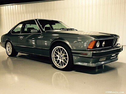 1989 BMW 635CSi for sale 100743017