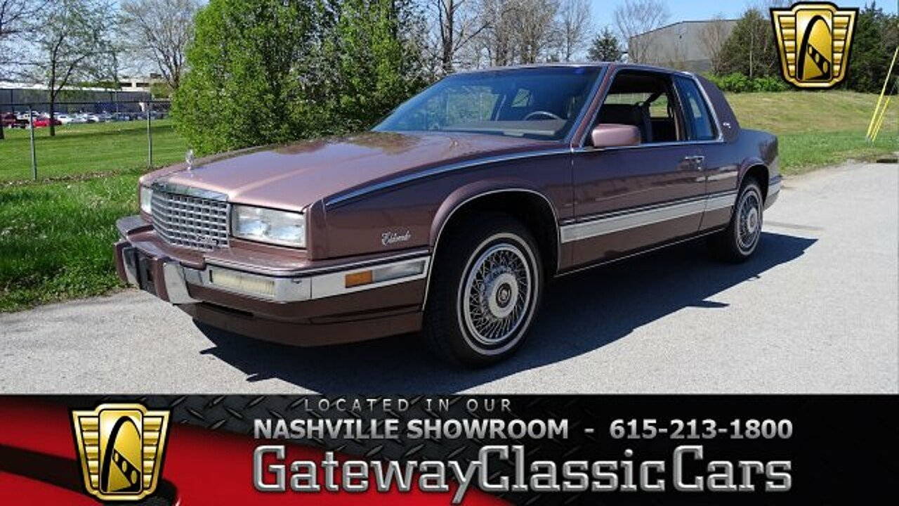 1989 Cadillac Eldorado Coupe for sale 100976280