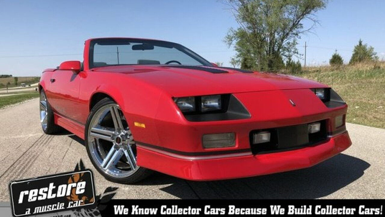 1989 Chevrolet Camaro Convertible for sale 100990776