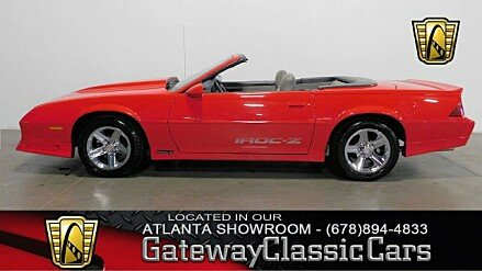 1989 Chevrolet Camaro Convertible for sale 100972683