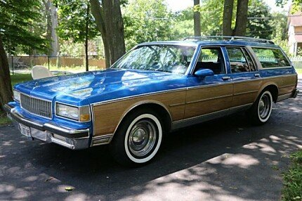 1989 Chevrolet Caprice Classic Wagon for sale 101012581