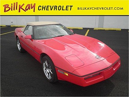 1989 Chevrolet Corvette Convertible for sale 100775315