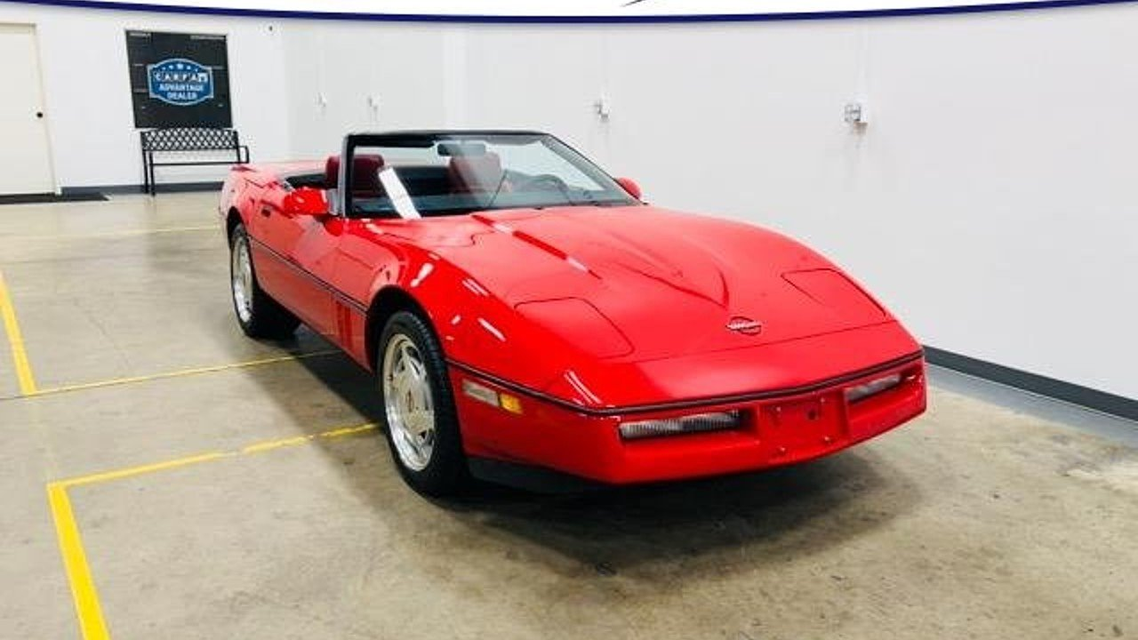 1989 Chevrolet Corvette Convertible for sale 101028175
