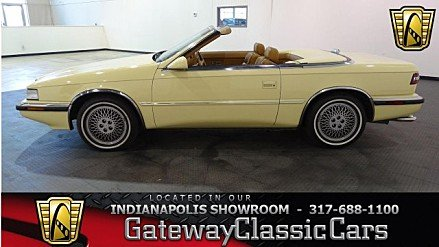 1989 Chrysler TC by Maserati for sale 100920547