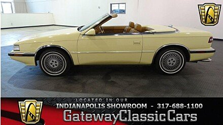 1989 Chrysler TC by Maserati for sale 100950359