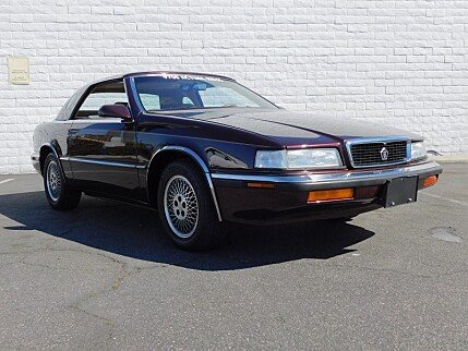 1989 Chrysler TC by Maserati for sale 100962049