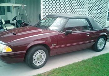 1989 Ford Mustang LX V8 Convertible for sale 100814627