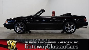 1989 Ford Mustang LX V8 Convertible for sale 100963389