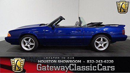 1989 Ford Mustang LX V8 Convertible for sale 100759124