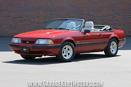 1989 Ford Mustang LX V8 Convertible for sale 100985411
