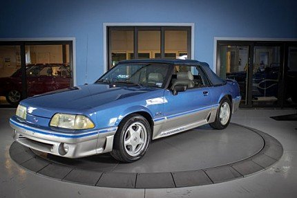 1989 Ford Mustang GT Convertible for sale 100996824