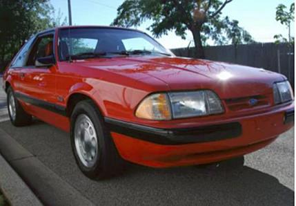1989 Ford Mustang LX V8 Hatchback for sale 101002507