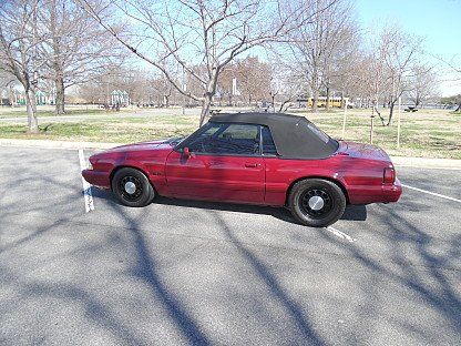 1989 Ford Mustang LX V8 Convertible for sale 101014646