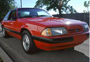 1989 Ford Mustang LX V8 Hatchback for sale 101023543