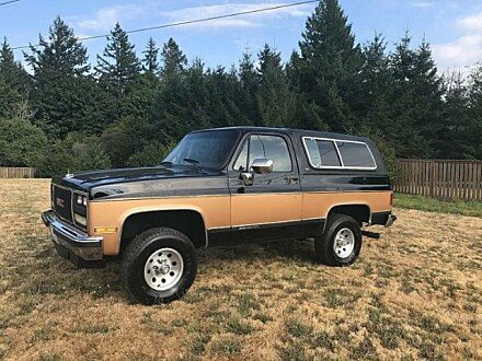 1989 GMC Jimmy for sale 100908211