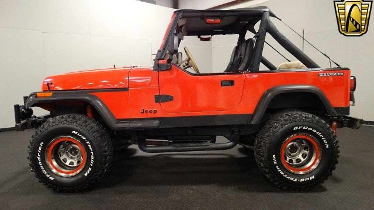1989 Jeep Wrangler 4WD for sale 100929685